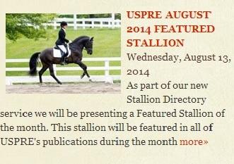 USPRE Aug 2014; Glen Aryn Farm News and Events
